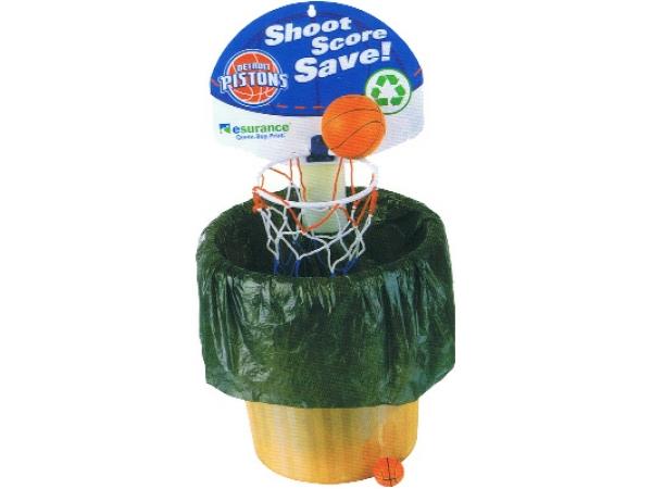 Brightways waste paper basket ball set - Basketball hoop garbage can ...