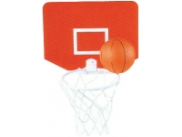 Square Promotional Basket Ball Set