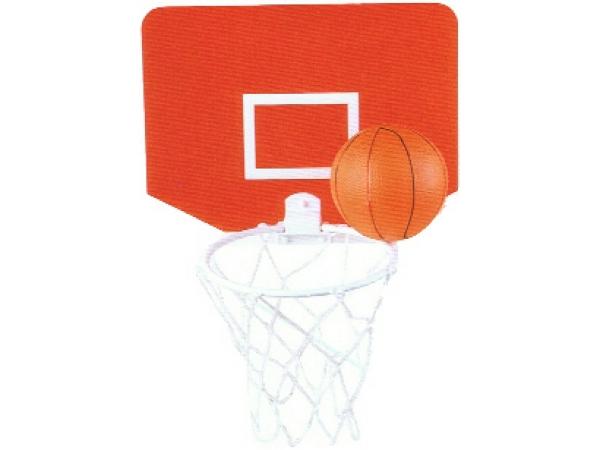 Brightways square promotional basket ball set - Basketball waste paper basket ...