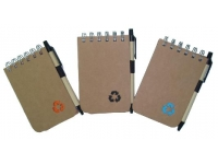 Eco  Friendly Note Pad With Pen