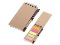 Eco Friendly Note Pad with Posties & Pen
