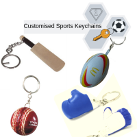 Sports Theme Keychains