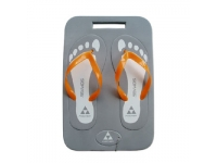 Flip Flop in Rectangular Cut Out With Keychain