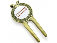 Soft Enamelled Golf Divot Tool