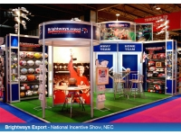 Brightways Stand at NEC Birmingham