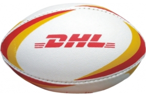 Mini Rugby Ball in Rubber Synthetic
